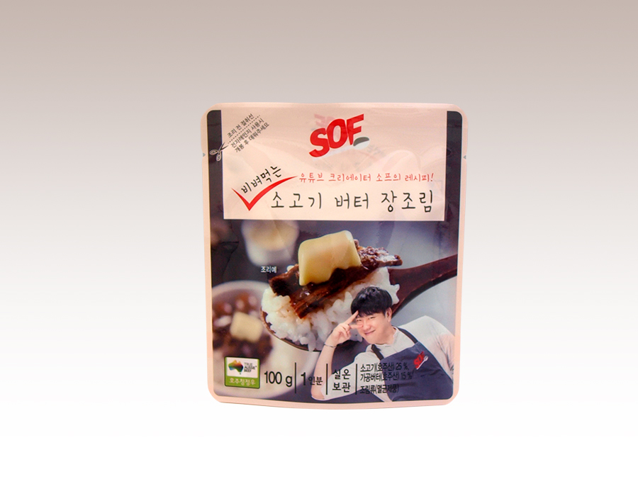 SOF 비벼먹는 소고기 버터 장조림